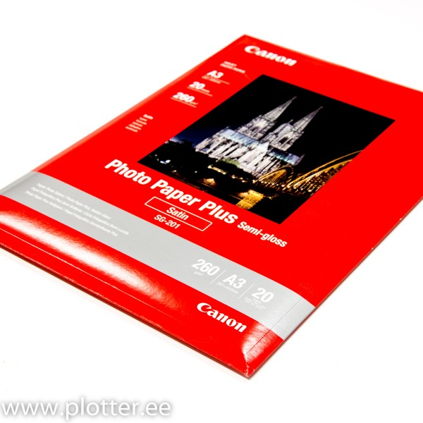 CANON PP -201 A3 Glossy II  275gr. A3  2...