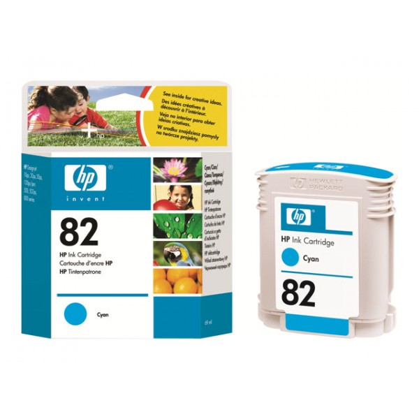 HP 82 Ink cyan 69ml DSJ500 800PS