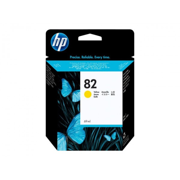 HP 82 Ink yellow 69ml DSJ500 800PS