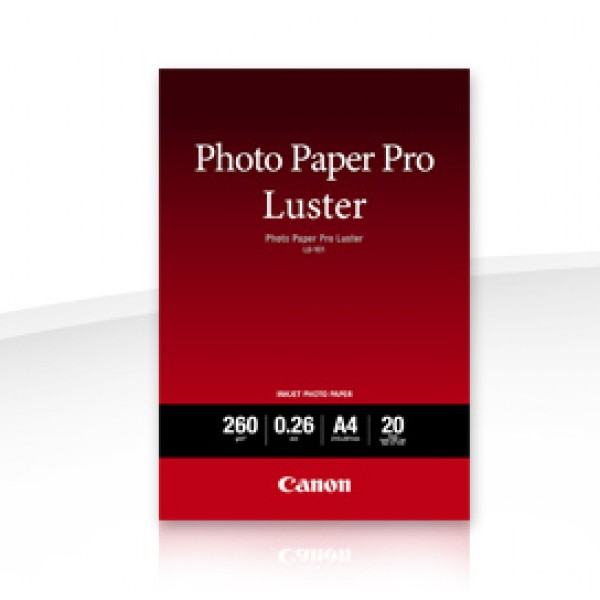 LU-101  Photo Paper Pro Luster, A2, 260...