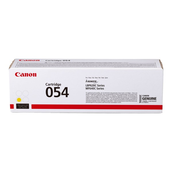 CANON Cartridge 054 H YELLOW