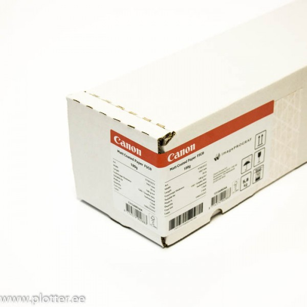 8946A  Canon Matt Coated Paper 610 mm x 30m  140g